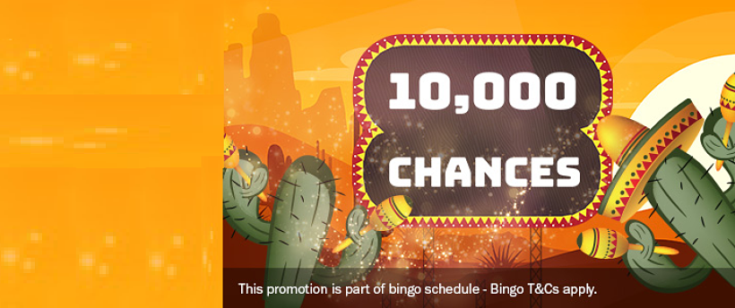 10,000 Chances to Win