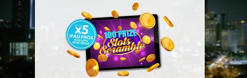 100 Prize Slots Scramble