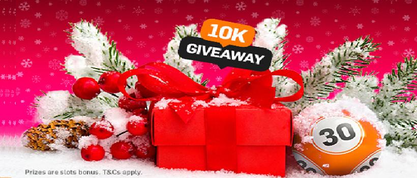 10K Christmas Giveaway