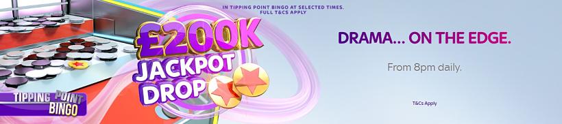 200K Jackpot Drop