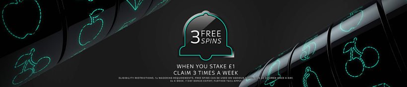 3 Free Spins