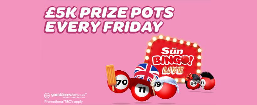 5k Prize Pots