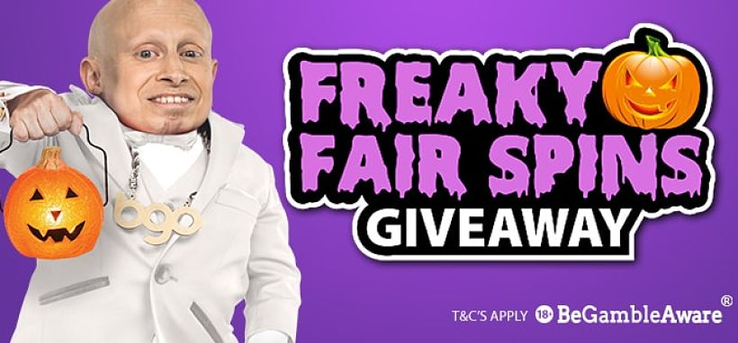 Freaky Fair Spins Giveaway