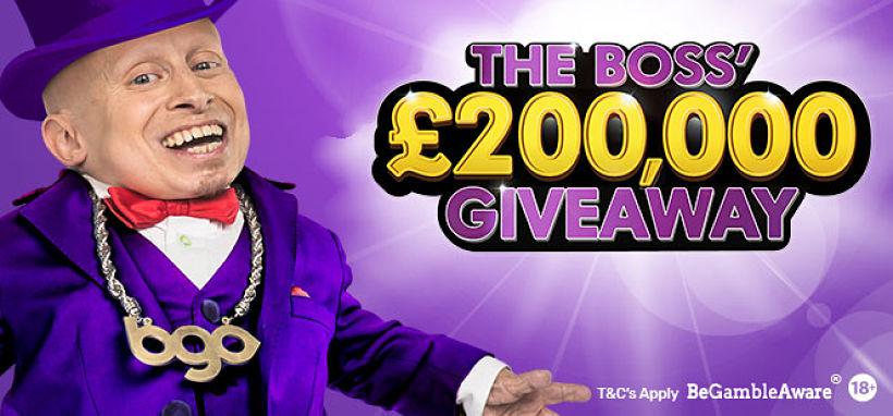 200K giveaway