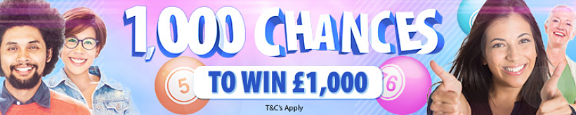 1000 Chances to Win
