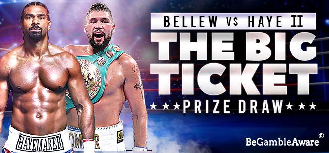 Bgo Big Ticket Prize Draw