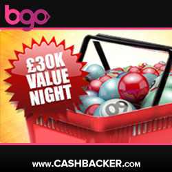 Bgo 30K Value Night Every Thursday
