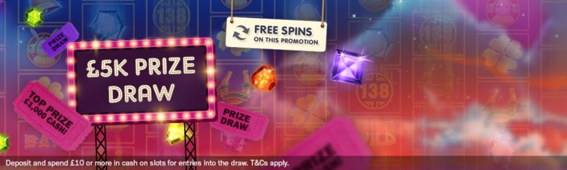 Mecca Bingo £5K Slots Draw