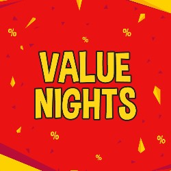Value Nights BOGOFF Bingo