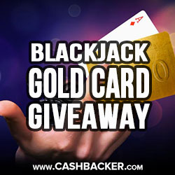 Gala Casino Blackjack Golden Cards Giveaway