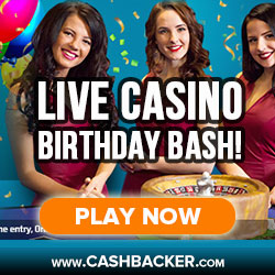 Live Casino Birthday Bash Coral Casino