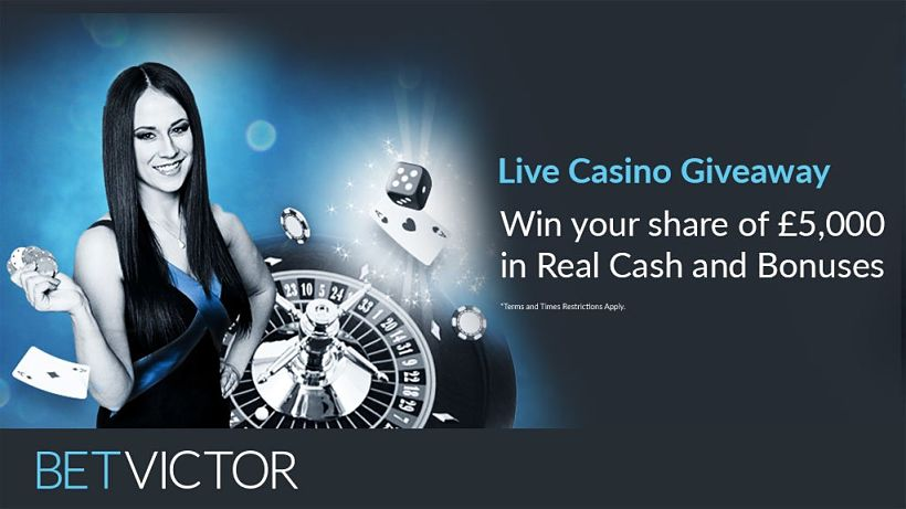 5K Live Casino Giveaway