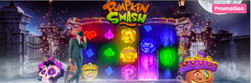 Pumpkin Smash Cash Race