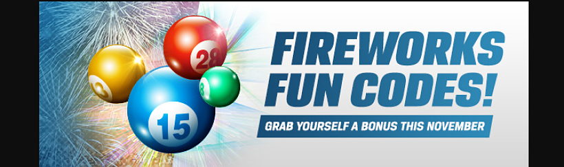 Fireworks Fun Codes