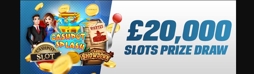 Slots Prize Draw