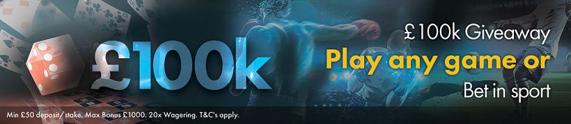 100K Giveaway