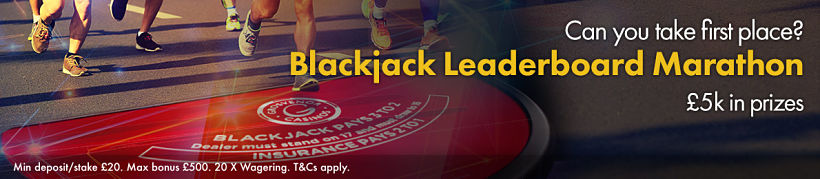 Blackjack Leaderboard Marathon
