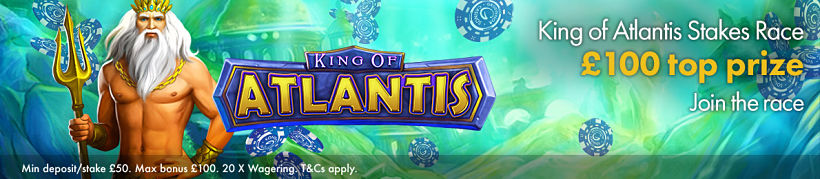 King of Atlantis Slots Race