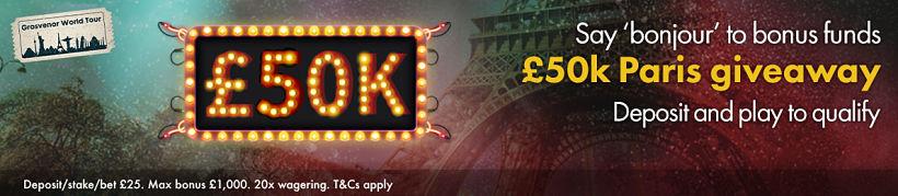 50K Paris Giveaway