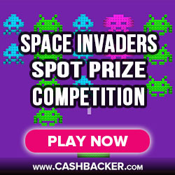 Space Invaders Spot Prize Gala Casino