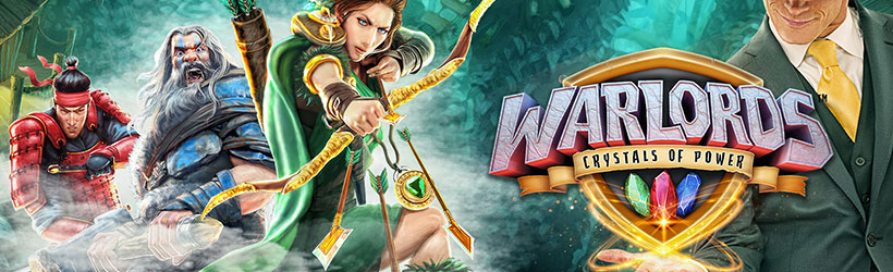 Warlords Crystals of Power Tournament at Mr Green