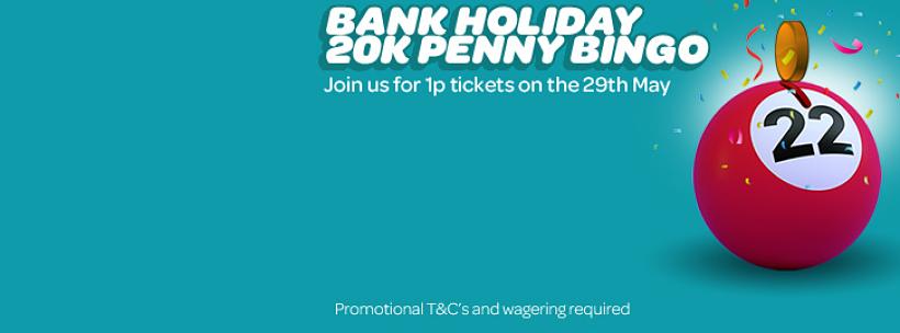 Bank Holiday Bingo