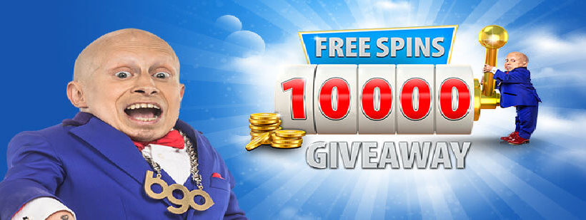 BGO Free Spins Giveaway