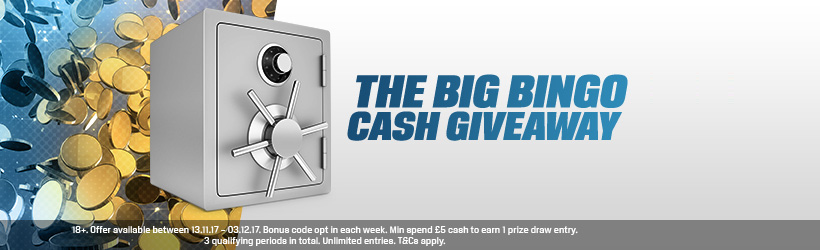 Big Bingo Cash Giveaway