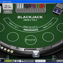 BetFair Blackjack