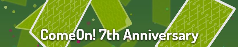 ComeOn Anniversary