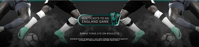England Ticket Giveaway