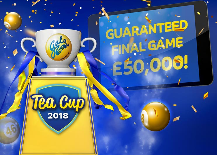 Gala Tea Cup