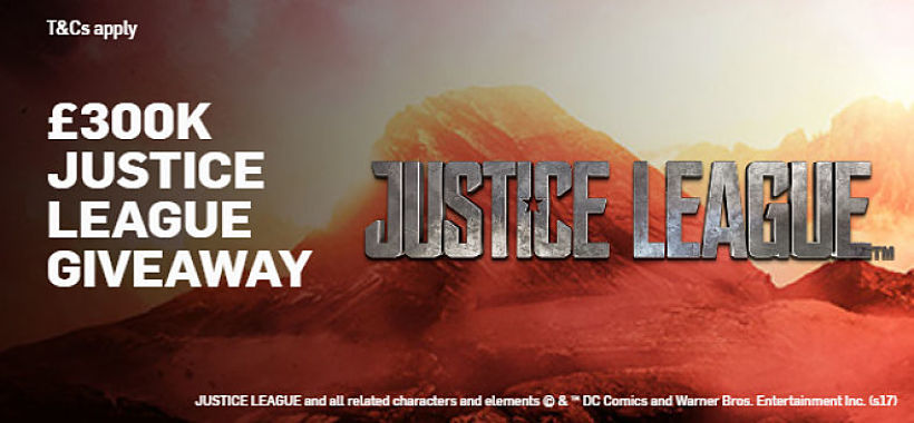 Justice League Prize Draw