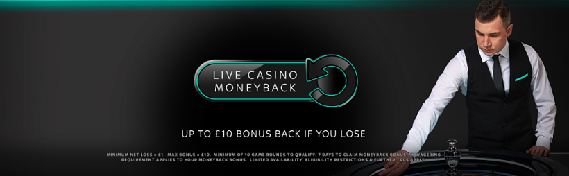 Live Casino Moneyback