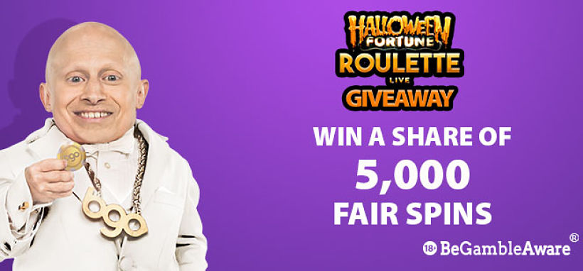 Halloween Fortune Roulette Giveaway