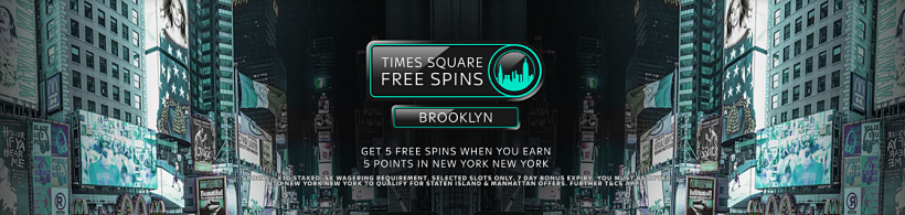 Times Square Free Spins