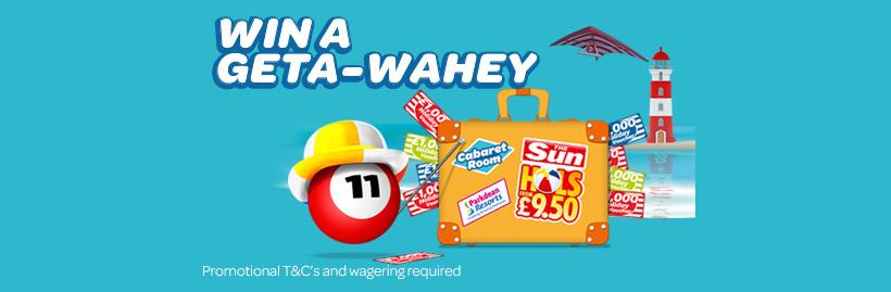 Win a Geta-Wahey
