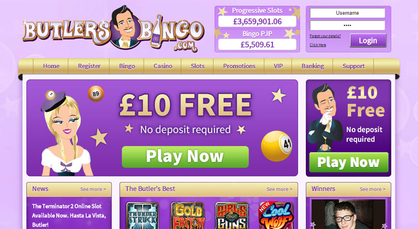 Butlers Bingo Review – Expert Ratings and User Reviews